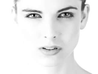 yeux d'une femme
