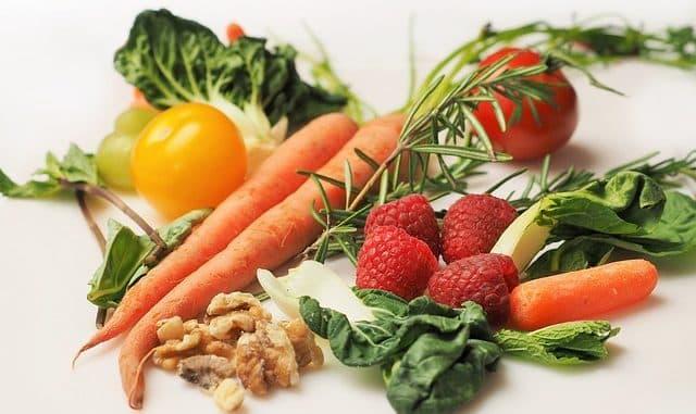 légumes pour un régime