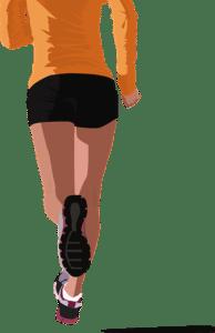 courir avec des semelles orthopédiques