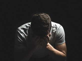 homme déprimé