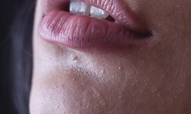 lèvres d'une femme