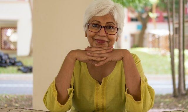 femme de 70 ans